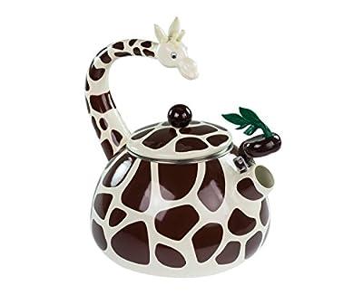 Bouilloire en Forme de Girafe - en Inox