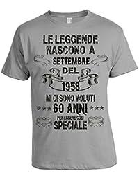 Amazon It Compleanno 60 Anni T Shirt T Shirt Polo E
