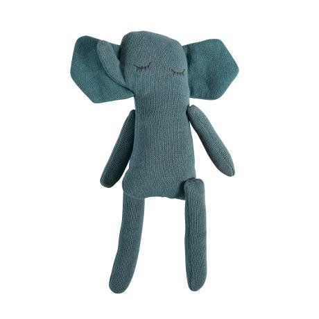 Sebra Strick Teddy, Trusty, 31cm, Elefant 100% Baumwolle gestrickter Elefant,