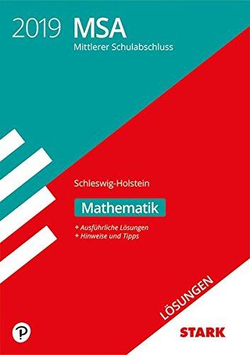 Lösungen zu Original-Prüfungen und Training MSA - Mathematik - Schleswig-Holstein