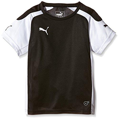 Puma Unisex - Kinder Trikot Fußball Speed, schwarz/weiß, 152, 701906 03 (Trikots Puma Fußball)