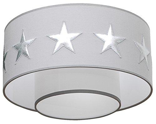 Taftan LPC-210 Deckenleucht Sternen, Diameter 35 cm, silber