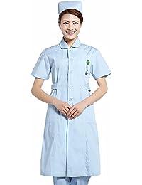 YISHIYI Enfermera Y Médico Usan Batas Blancas Y Ropa De Trabajo Ropa De Manga Larga De