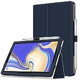 MoKo Cover per Samsung Galaxy Tab S4 10.5', Custodia Pieghevole, a Piedi Supporto, con Funzione Auto Sveglia/Sonno, con Anello per Penna, per Samsung Galaxy Tab S4 10.5' - Indaco