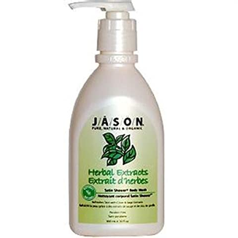 Jason Natural Cosmetics Herbal Extracts Satin Shower Body Washes 30