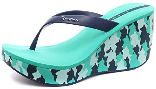 Ipanema Brasil Lipstick III Femme Flip Flops Turquoise/Blue
