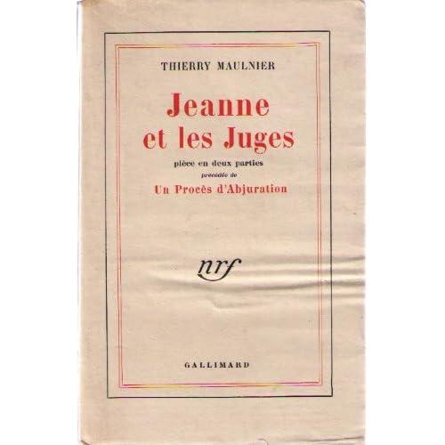 Jeanne et les juges