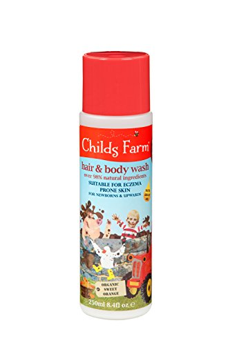 Childs Farm hair & body wash for dirty rascals 250ml