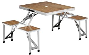 OUTWELL DAWSON PICNIC FOLDING TABLE/CHAIRS CAMPING EQUIPMENT NEW