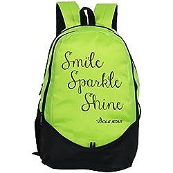 Polestar Buddy 30 Lt Green Casual Travel Laptop Backpack School Bag