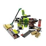 Bausteine gebraucht 1 x Lego System Teile Set für Modell Ninjago 9558 Training Set Schlange grün Incomplete unvollständig