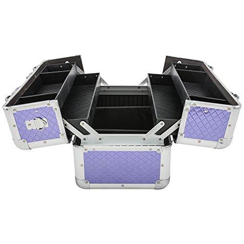 Etagenkoffer Beauty Case Kosmetikkoffer – in vielen Farben lieferbar - 3