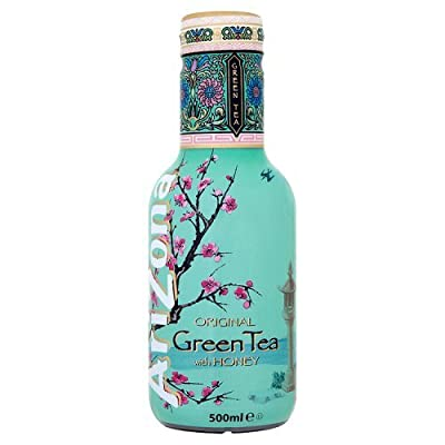 AriZona Original Green Tea with Honey, Eistee, PET - 0.5L