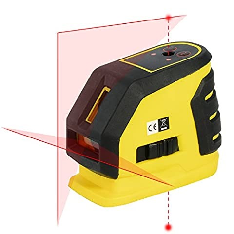 Professional Système de nivellement automatique Niveau laser en croix et deux Pois avec Pulse Mode pour des applications d'intérieur complète
