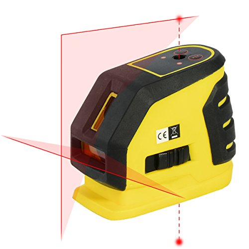 firecore-professional-self-leveling-cross-line-laser-level-plus-two-dots-with-pulse-mode-for-precise