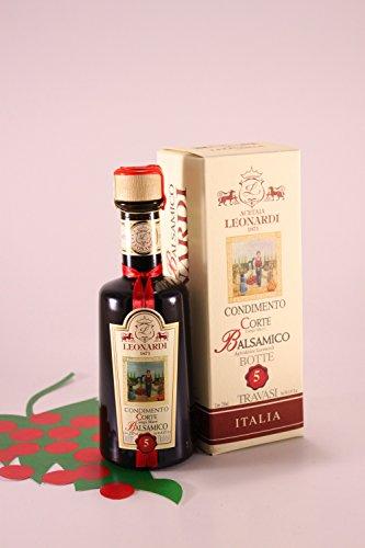 Condimento Balsamico \'Corte 5\' 250 ml. - Acetaia Leonardi