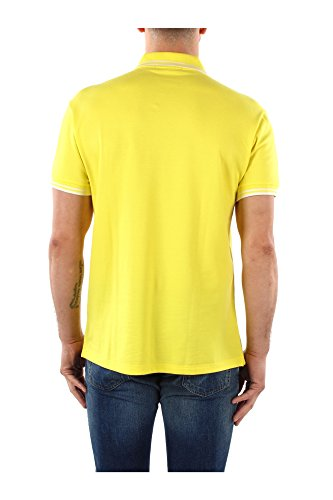 301620093137 Fred Perry Polo Homme Coton Jaune Jaune