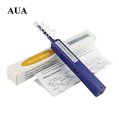 AUA 1.25 mm Fibre Optique Nettoyeur en Forme de Stylo pour Connecteur à Fibre Optique LC,Mu,LC/APC par Aua