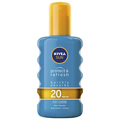 Nivea Sun Invisible Protection Transparent Spray LSF 20 Medium 200ml