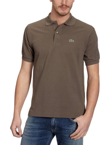Lacoste Herren Regular Fit Poloshirt L1212, Braun (BMR), S (Herstellergröße: 3)