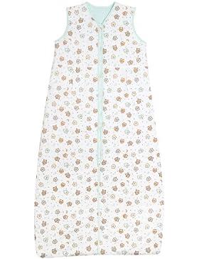 Schlummersack Simply Winter Babyschlafsack 3.5 Tog - Eulen - erhältlich in verschiedenen Grössen: von Geburt bis...
