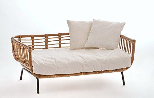 Animal De Lit Design Canapé Moderne Rotin Avec Coussin Pour Chien