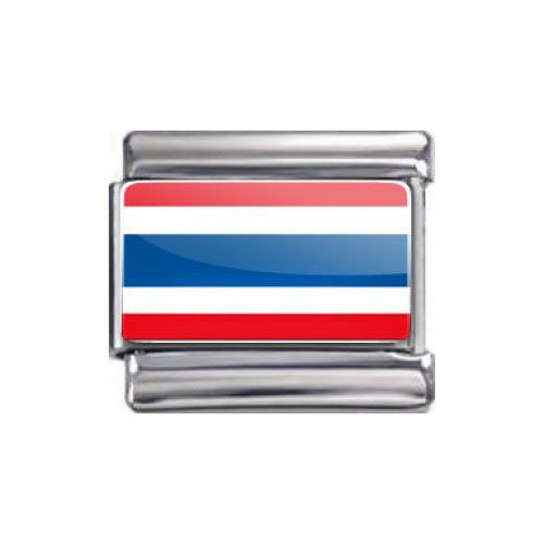 Italian Charms Modul Nationalflagge Thailand ...by Kult-Schmuck