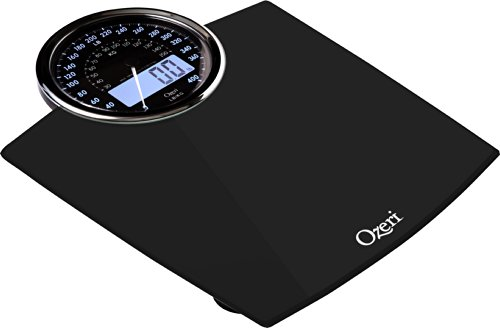 Bilancia digitale da bagno Ozeri Rev con quadrante elettromeccanico (nera) - 3