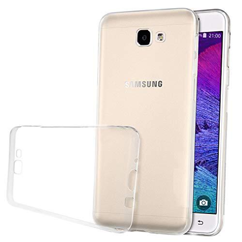LUCKLYSTAR® Hülle für Samsung Galaxy On5(2016), Anti-Scratch Stoßfest Unterstützt Kabelloses Aufladen Ultra Dünn TPU Bumper Schutzhülle Kratzfeste