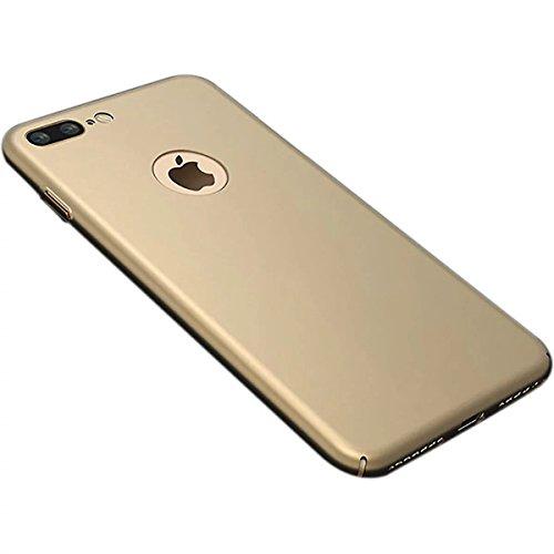 Case pour iPhone 7plus, Ultra Slim Super Soft TPU silicone avec la mode Placage Craft, motif en ¨¦toile, Violet Or soyeux