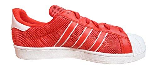 Adidas Superstar Uomo Da Ginnastica red blue white BB5394