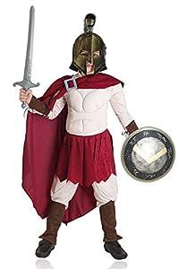 Aptafêtes-cs08906/8-Disfraz de Rey de Esparta-Talla 8años