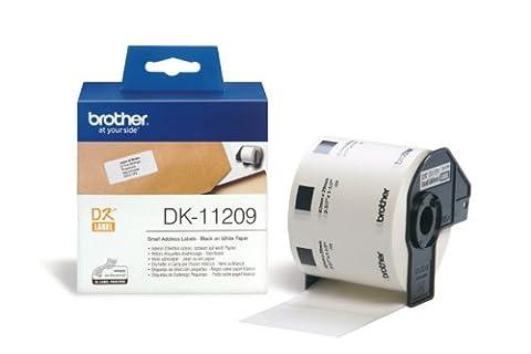 Etiquette Brother - Brother DK-11209 800 etiquettes adresse 29 X