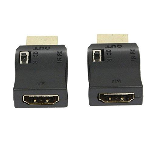 Estendere IR su Cavo HDMI Wide Band IR controllo adattatore HDMI iniettore Kit, confezione da 2