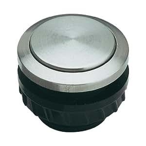 grothe klingeltaster knopf und h lse edelstahl protact 550 va 1522064 baumarkt. Black Bedroom Furniture Sets. Home Design Ideas