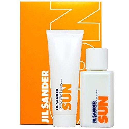 Jil Sander Sun Woman Eau de Toilette Spray 75ml und Hair und Body Shampoo 75ml