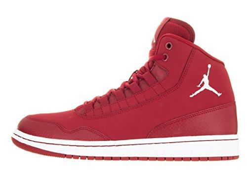 Nike Jordan Executive, espadrilles de basket-ball homme Rojo (Rojo (gym red/white-white))