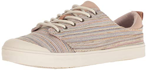 Reef Damen Girls Walled Low TX Turnschuh, Tan Multi Lines, 42 EU Reef Girls