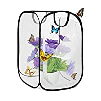 AiYoYo Insect and Butterflies Habitat Cage Foldable Waterproof Butterfly Houses Anti-Mosquito Butterfly Tent Pop Up Mini Transparent Greenhouse Grow House