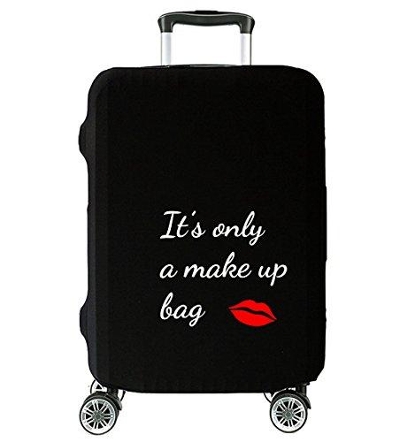 """Elegante Coperture per valigie Cover Proteggi Valigia Suitcase Copri Valigia Anti-Polvere It's only a makeup bag È solo una borsa per il trucco L LARGE 27""""-30"""" [083]"""