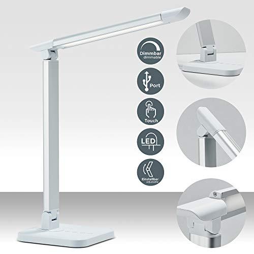 LED Schreibtischleuchte 7W | dimmbare Tischlampe mit