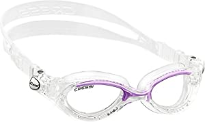 Cressi Flash Swim Goggles Ladies - for Women (Made in Italy)