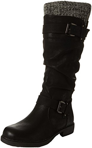 Lotus Women's Fontura Slouch Boots, Black (Black), 7 UK 40 EU