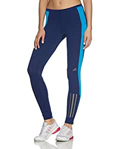 adidas Performance Women's Supernova Leggings (XX-Small, Blue)