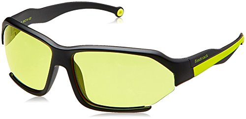 Fastrack Mirrored Sport Men's Sunglasses - (P330YL3|Yellow Color)  available at amazon for Rs.1649