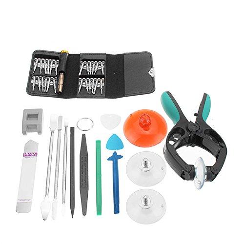 Preisvergleich Produktbild 40 In 1 Bildschirm Eröffnung Reparatur Tool Kit Schraubendreher Set für iPhone Android Phone Tablet PC