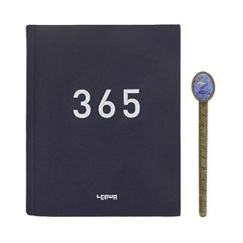 Notizbuch DIN A5 Reisetagebuch 365 Tage Journal Tagesplaner Wochenplaner Agenda