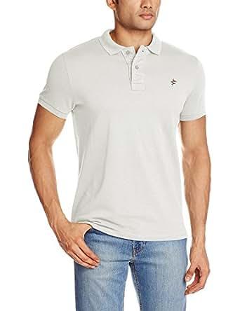 Breakbounce Men's Polo (8907066083171_Holist_Small_Opaque White)