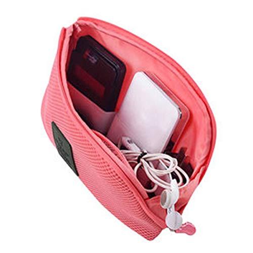 Samtlan Reise-Universal-Organizer-Tasche Multifunktionale Elektronik-Zubehör Fall Verpackung Aufbewahrungstasche stoßsichere Gadget Tasche Make up Tasche Datenkabel Reisekoffer - E/w-cross-body-organizer