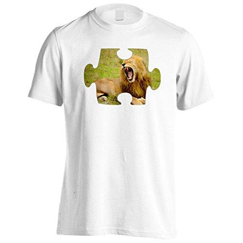 Puzzle immagine bella immagine meravigliosa Uomo T-shirt e515m White